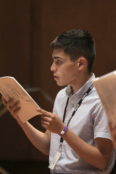 Young Enid artists spend summer at arts institute