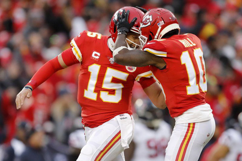 Historic playoff comeback: Chiefs rally to beat Texans 51-31