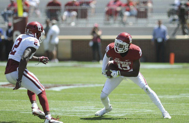 Oklahoma WR Nick Basquine out for year with Achilles injury