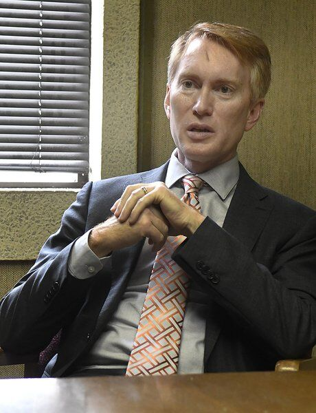 Wind, tribes and election security — Lankford talks issues during visit to Enid