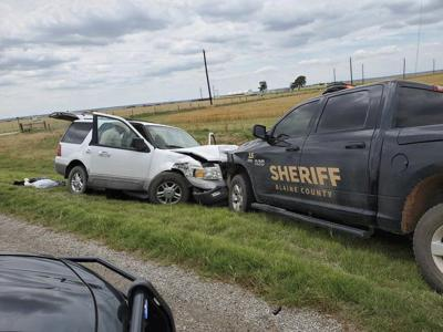 Teen leads authorities on 2-county pursuit