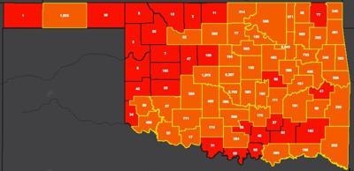 COVID-19 Oklahoma map for 8.1.20 (copy)