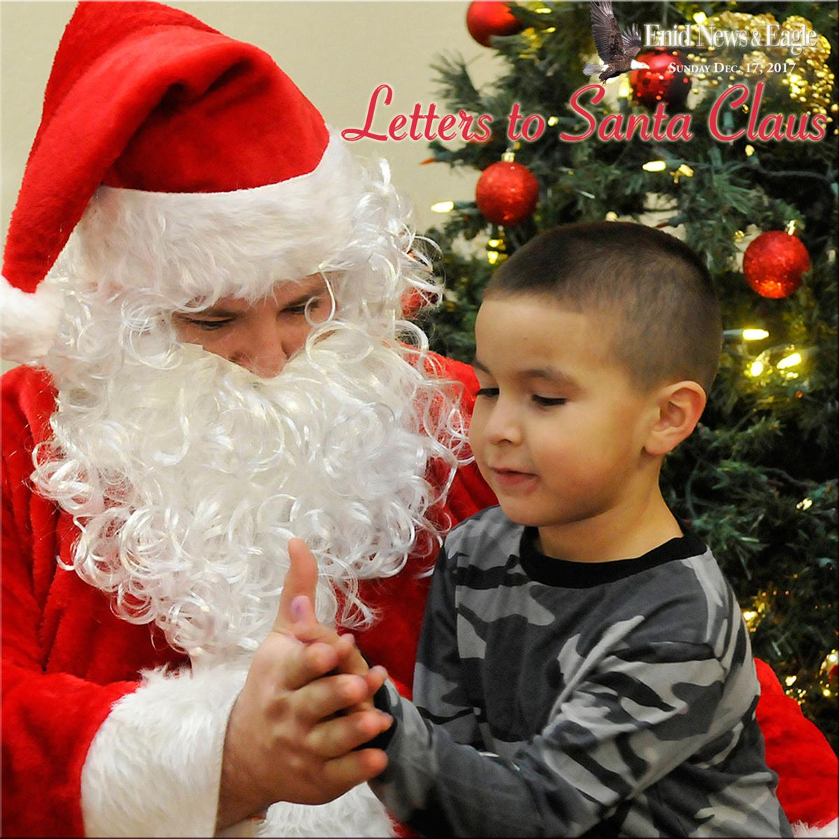 Letters To Santa Claus   News  EnidnewsCom