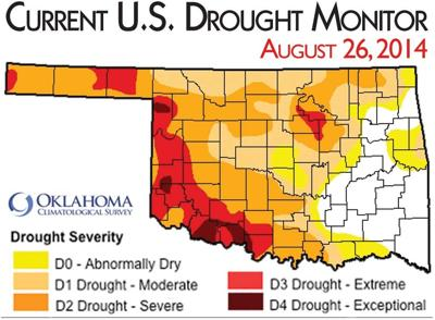 Drought unchanged   Local News   enidnews.com