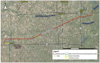 2nd phase of pipeline project has slight delay