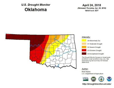 Fallin's burn ban modified, reducing number of counties