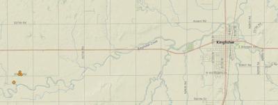 4 earthquakes shake Kingfisher area Tuesday