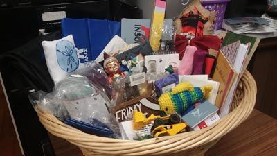 basket of stuff