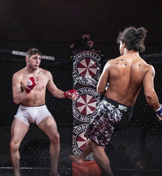 Former Plainsmen wrestler Austin Loza continues pursuit of MMA career