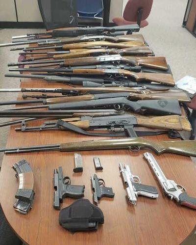 Sheriff: Deputies seize weapons, meth after incident Sunday