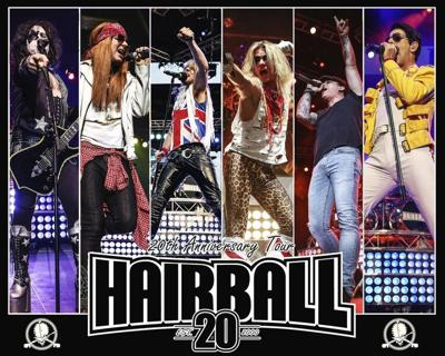 Hairball brings the hits to Enid