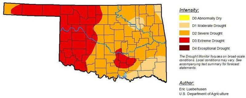 Drought conditions worsen across NW Oklahoma | News | enidnews.com