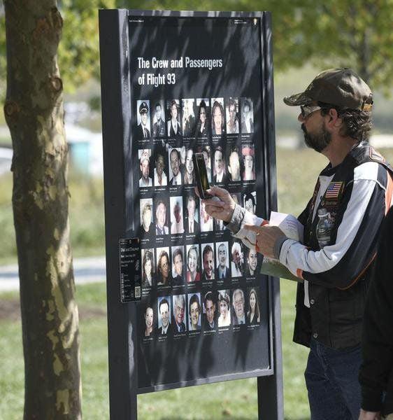 Flight 93 crew, passengers honored on 9/11 anniversary