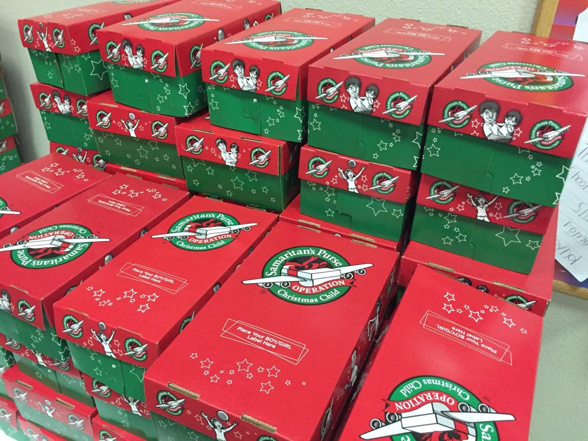 Christmas Child Boxes.Operation Christmas Child To Collect Gift Boxes In Enid