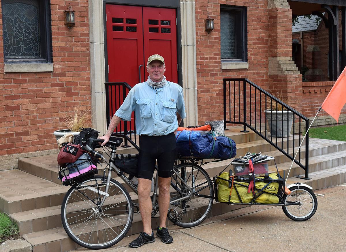 Bicycling Friar