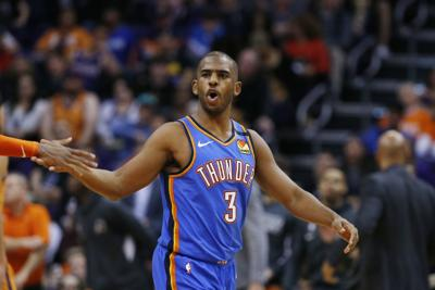 Thunder Suns Basketball