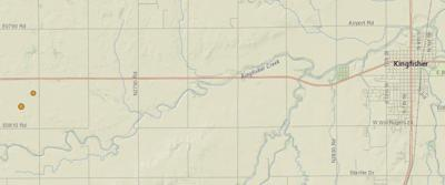 2 more earthquakes reported west of Kingfisher