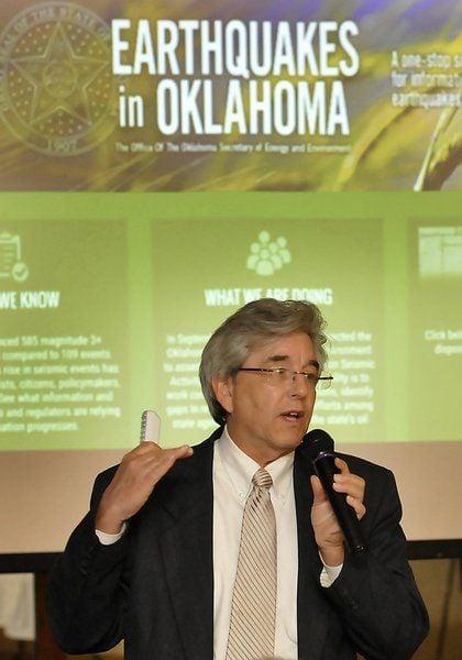 Oklahoma world's No. 1 earthquake area
