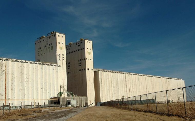 Local grain storage capacity one of largest in United ...