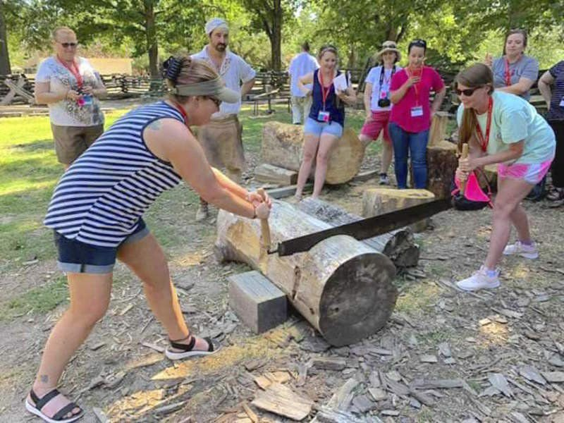 Coolidge teacher among educators to visit Colonial Williamsburg
