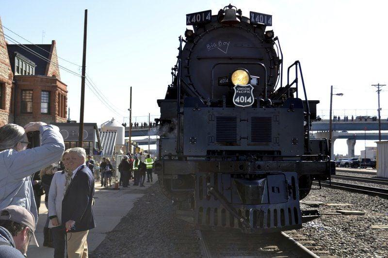 Big Boy' steam locomotive makes post-restoration debut