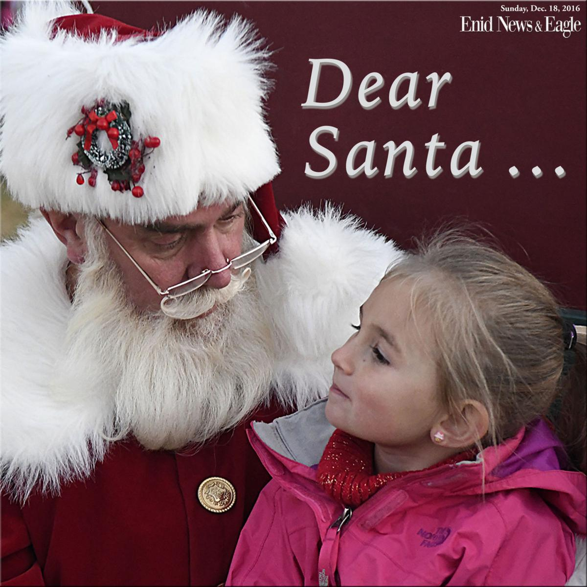 Dear Santa Santa Letters Published For   News  EnidnewsCom