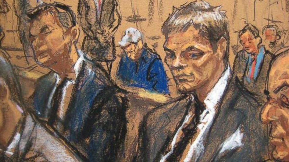 Courtroom sketch of Tom Brady