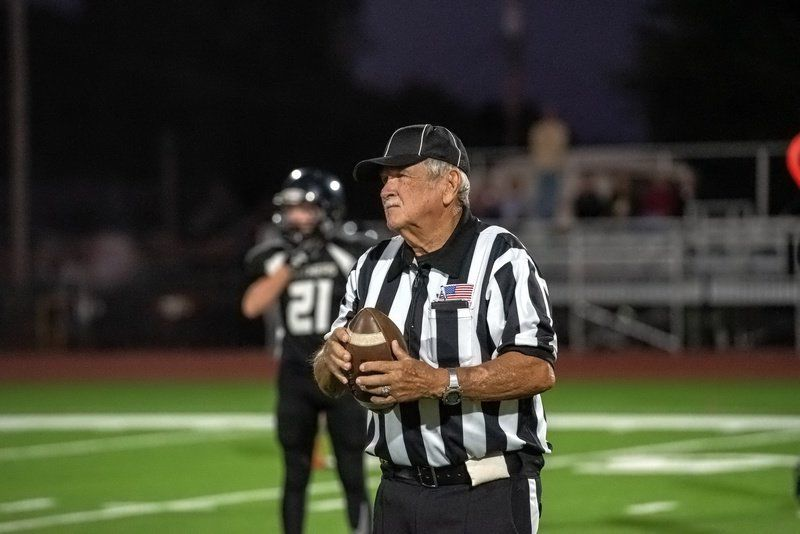 Longtime referee Richard Parker closes the book on career
