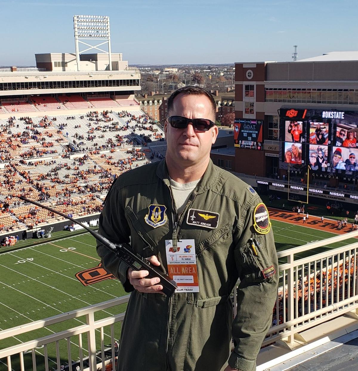 """Lt. Col. John """"Matt"""" Kincade"""