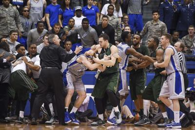 Colorado St Air Force Basketball