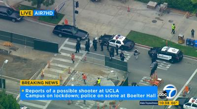 UPDATE: 2 die in UCLA campus shooting, gunman possibly dead