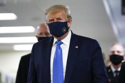 Masked Trump