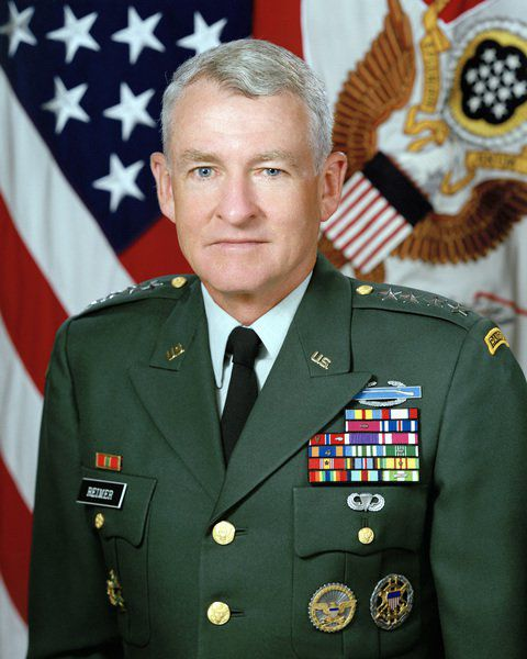 Local native, retired four-star general closes out six decades of service