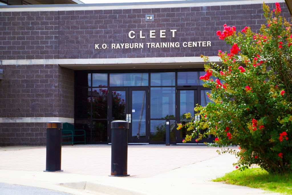 The Council on Law Enforcement Education and Training facility
