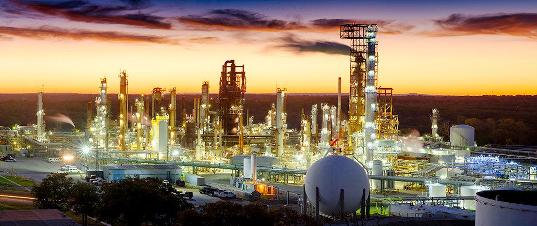 Valero petroleum refinery
