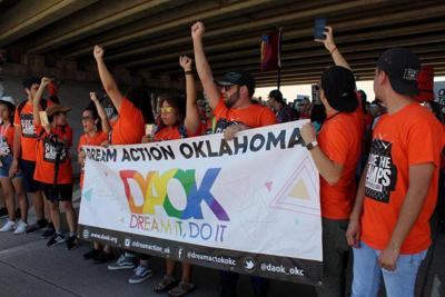 Protesters at Fort Sill call for closure of detainment camps