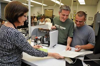 Same-sex couples continue filing for marriage licenses day