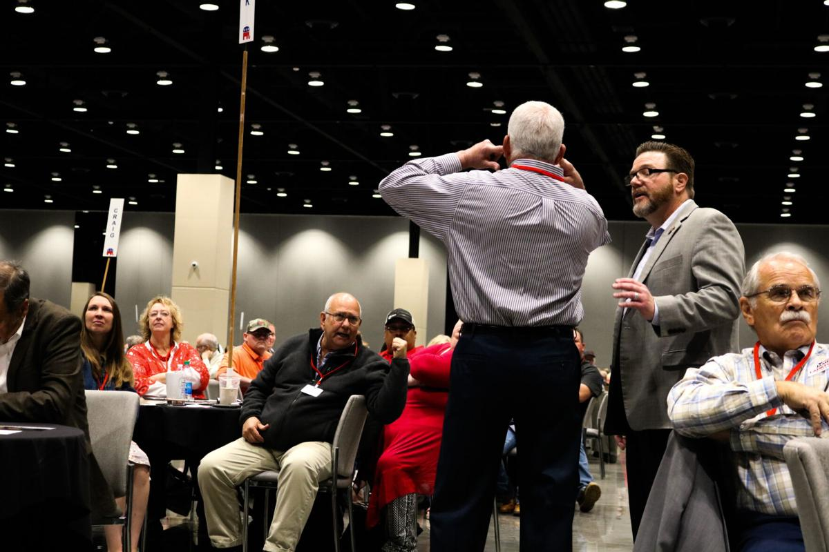 Inhofe comes under fire at state GOP convention