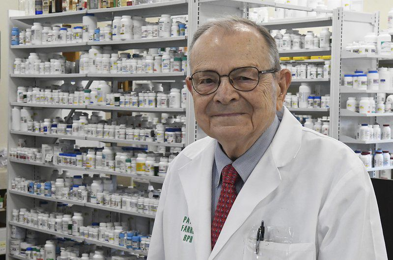 Farrell to be honored for six decades of pharmacy service