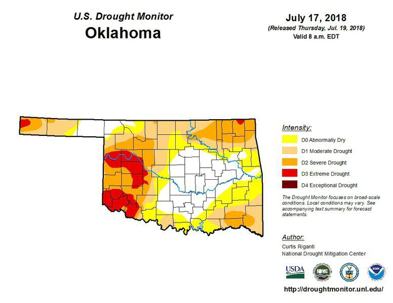 Northwest Oklahoma drought conditions continue   Local News ...