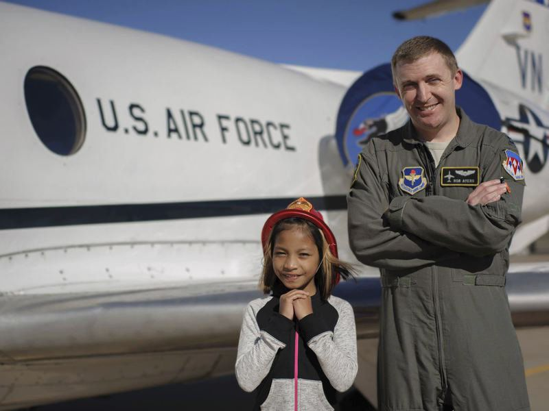 Airman For A Day honors students, showcases Vance