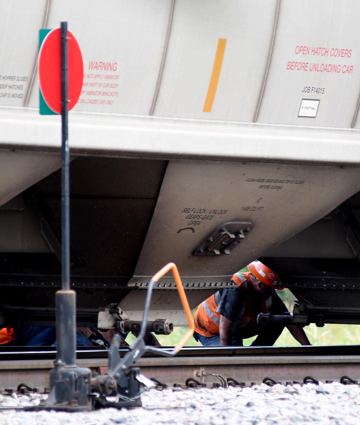 UPDATED: Train derailment blocks Enid streets | Community