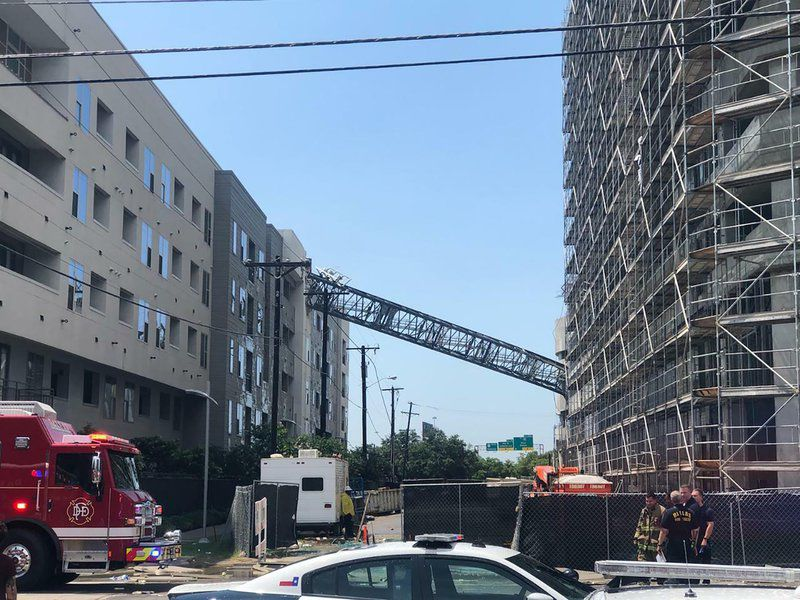 Dallas crane collapse victim identified as 29-year-old woman