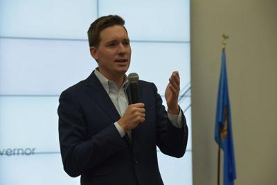 Pinnell lays out plan for improving state education during Enid visit