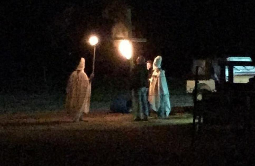 UPDATED: 'Halloween prank' with KKK robes, bonfire reported