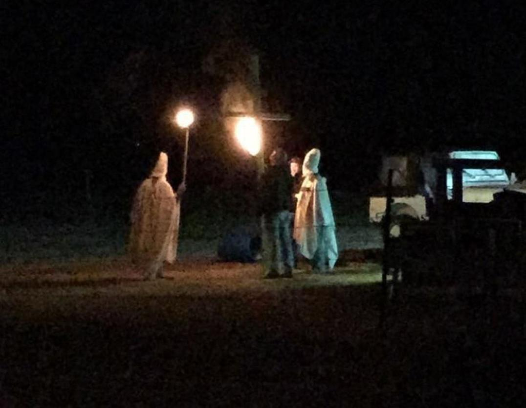 Halloween night incident in Lahoma