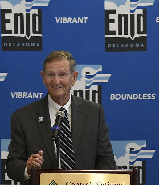 Shewey: 'Another great day in Enid, Oklahoma'