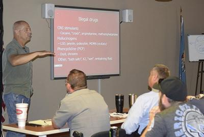 Local law officers attend training