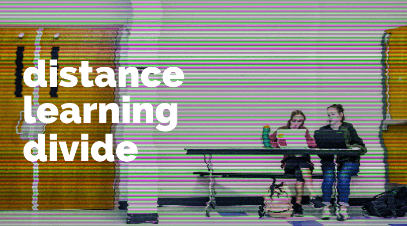 Distance learning divide
