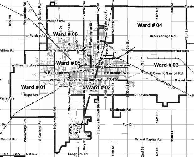 city of enid ward mapjpg enidnewscom